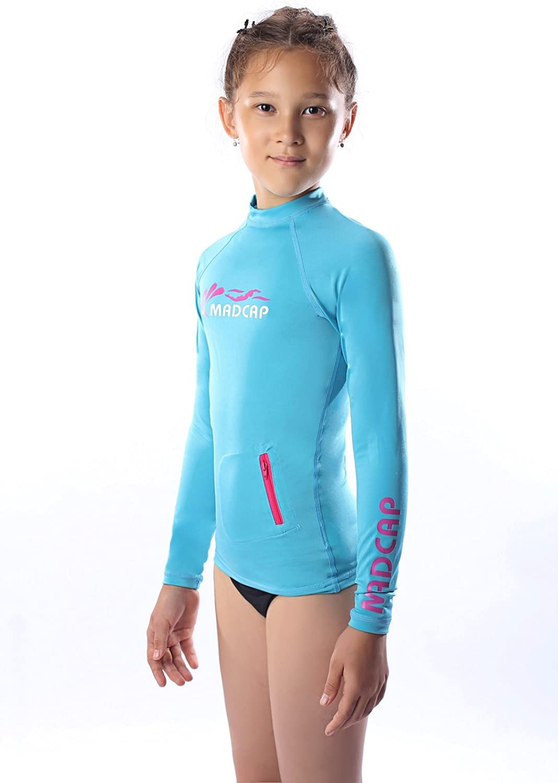 XLarge 16 New Swim; UV50+ Girls Speedo Rashguard Shirt - Small 7-8 Large 14