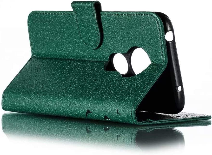 FlipBird Luxury Flip Wallet Case for Moto G7 Play Flip Fold Kickstand Case with Card Holders Folding Stand Protective Book Case Cover for Motorola Moto G7 Play