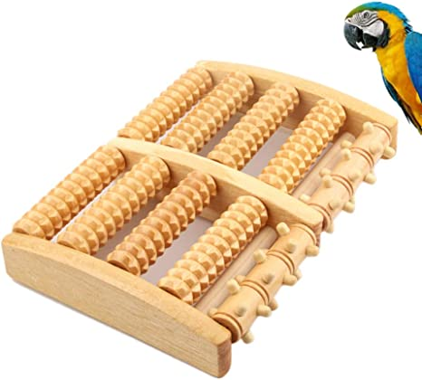 Enterrific Pet Bird Toys Rodillo de Madera Cinta de Correr ...