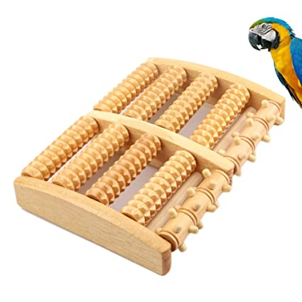 Domeilleur Juguetes para pájaros de Madera Juguetes con Ruedas de ...