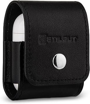 Amazon Com Stilgut Genuine Leather Case For Apple Airpods 1