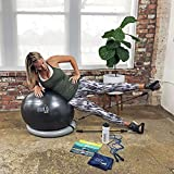 Gearrific Exercise Ball, Stability Base