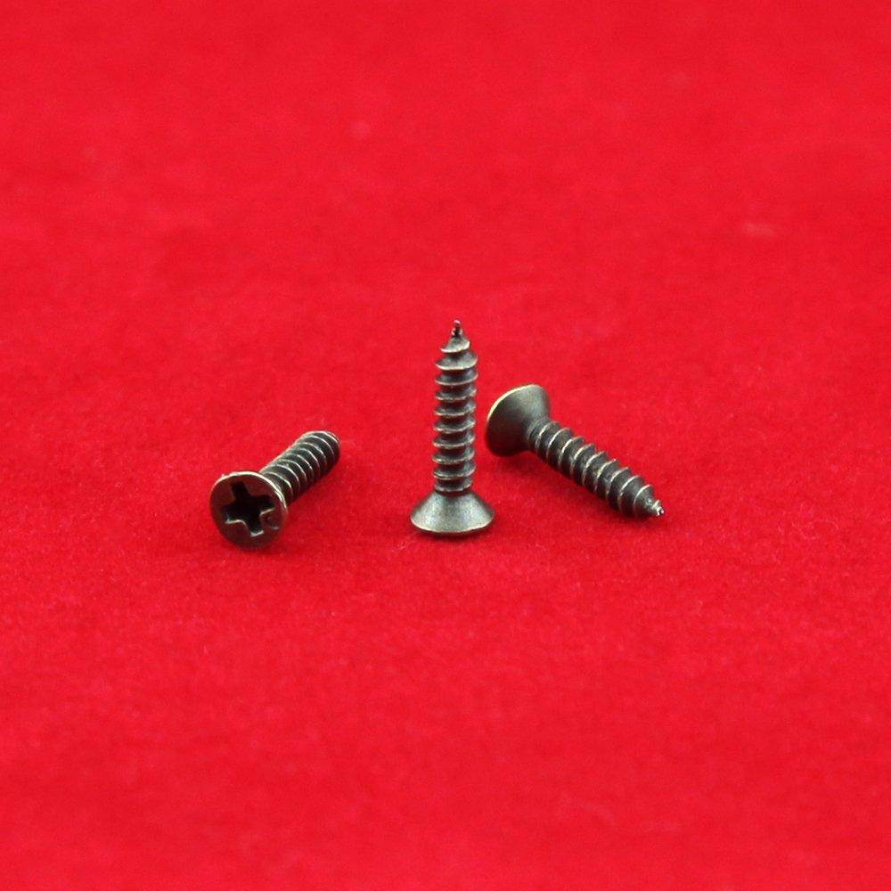 Petites Vis pour Small Charni/ère Antique vis autotaraudeuses Vert Bronze 2.5x8mm//0.09x0.31500pcs Wholesale