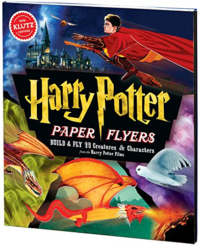 Klutz Harry Potter Paper Flyers Toy