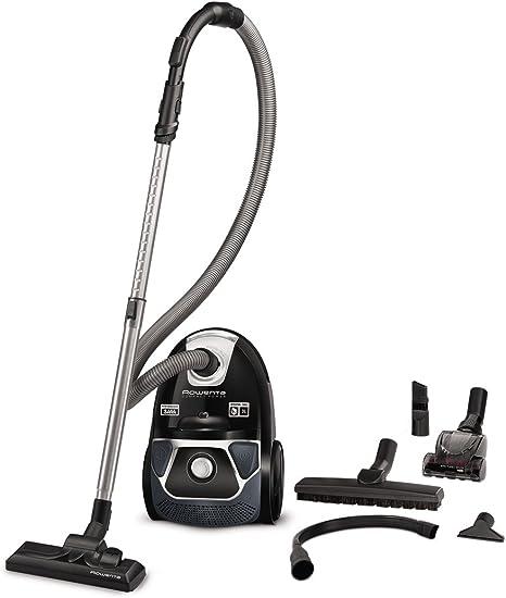 Rowenta Compact Power RO3995 - Aspiradora (750 W, Aspiradora cilíndrica, Secar, Bolsa para el polvo, 3 L, Filtro higiénico): Amazon.es: Hogar