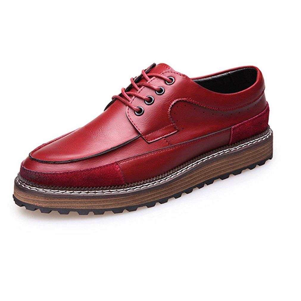 Feidaeu - Zapatos Hombre 42 EU|Rojo Zapatos de moda en línea Obtenga el mejor descuento de venta caliente-Descuento más grande