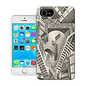 Unique Phone Case Black and white artwork Relativity Hard Cover for 5.5 inches iphone 6 plus cases-buythecase