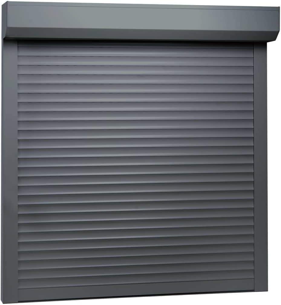 vidaXL Persiana enrollable aluminio gris antracita 100x100 cm: Amazon.es: Bricolaje y herramientas