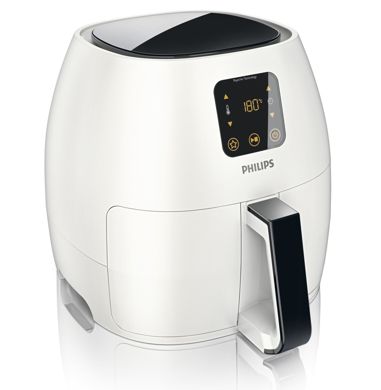 Philips XL Airfryer, The Original Airfryer, Fry Healthy with 75% Less Fat, White, HD9240/34 by Philips (Image #2)