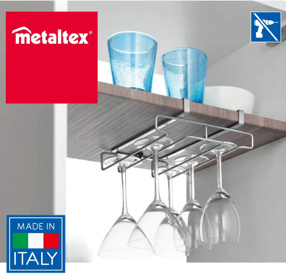 Metaltex My Glass 364914 Sottoripiano porta calici
