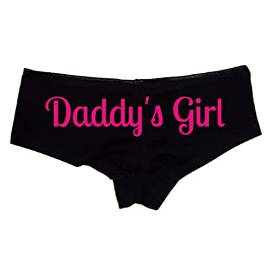 Daddys Girl Booty Shorts Boyshort Cotton Bikini Bottom Sexy Panties