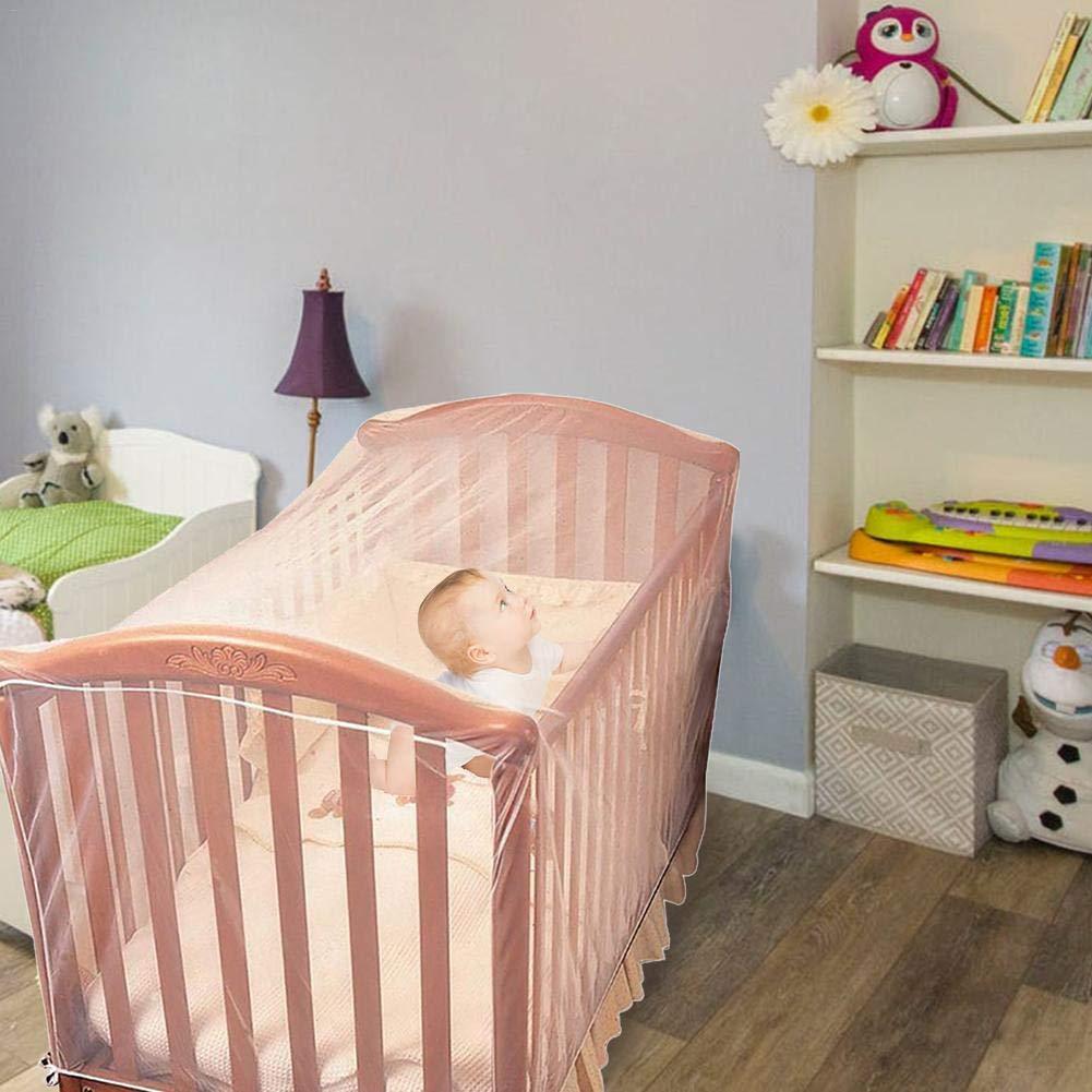 filles ou adultes Pour b/éb/és /Él/égante et robuste enfants maternelle Prot/égez votre b/éb/é Moustiquaire pour lit b/éb/é et fille anti-moustiques
