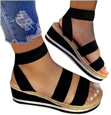open toe ankle strap platform sandals