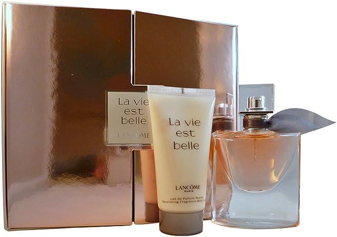 Lancome la Vie Est Belle regalo Set Femme/Woman, Eau de Parfum vaporisateur/Spray 30 ml, loción corporal 50 ml, 1er Pack (1 x 80 ml): Amazon.es: Belleza