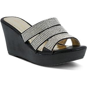 355b6a15866 PATRIZIA Women s Cinderella Wedge Sandal
