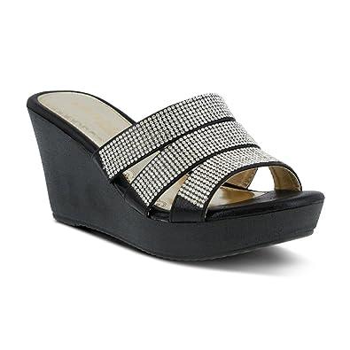 c2f57d1eed7b PATRIZIA Women s Cinderella Wedge Sandal
