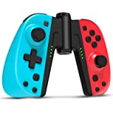 Controller for Nintendo Switch, Wireless Controllers for Switch, Set of 2, with Grip, Turbo, Programmable, Gyro Axis, Ergonom