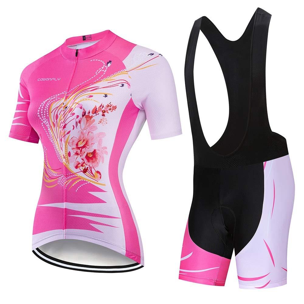 Cyclisme Maillots manches longues Set Maillots d/ét/é /à manches courtes for femmes V/êtements de v/élo V/êtements de v/élo V/êtements de cyclisme Respirant /Évacuation de lhumidit/é et s/éch