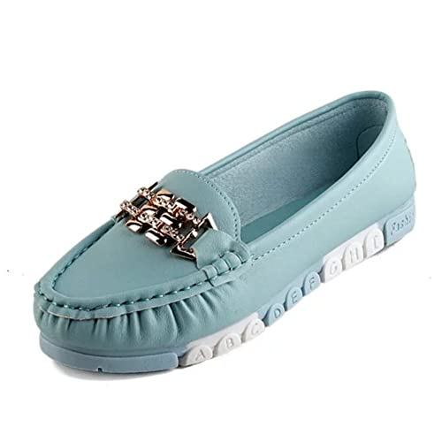 c5d3ca7d890dc RHFDVGDS Spring and Autumn Lady Bean Shoes/Round-Headed Shallow ...