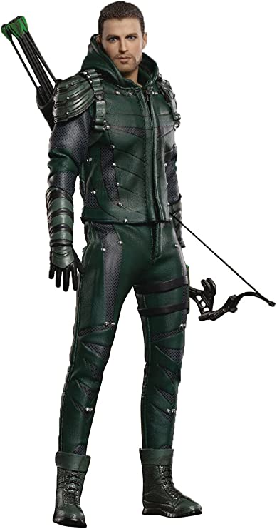 Amazon.com: Star Ace Toys DCTV Green Arrow 1:8 Scale Deluxe ...