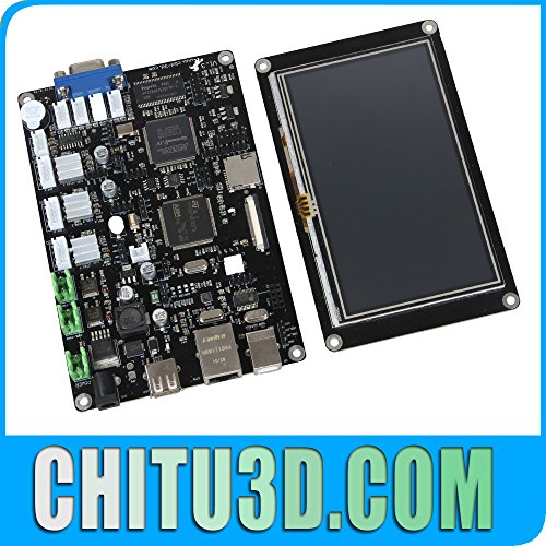 DLP 3D Printer Controller 3D printer board DLP / LCD light curing off-line  system 5-inch touch screen control panel