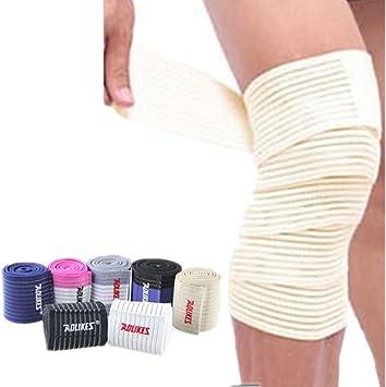Amazon Com Mcolics 1 Pair Elastic Breathable Knee Compression