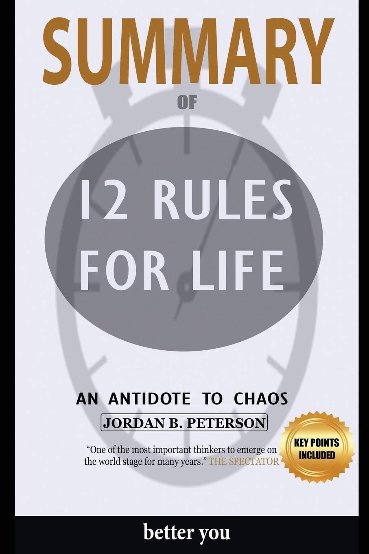 oficjalne zdjęcia najlepsza wyprzedaż wyprzedaż resztek magazynowych Buy Summary Of 12 Rules for Life: An Antidote to Chaos by ...