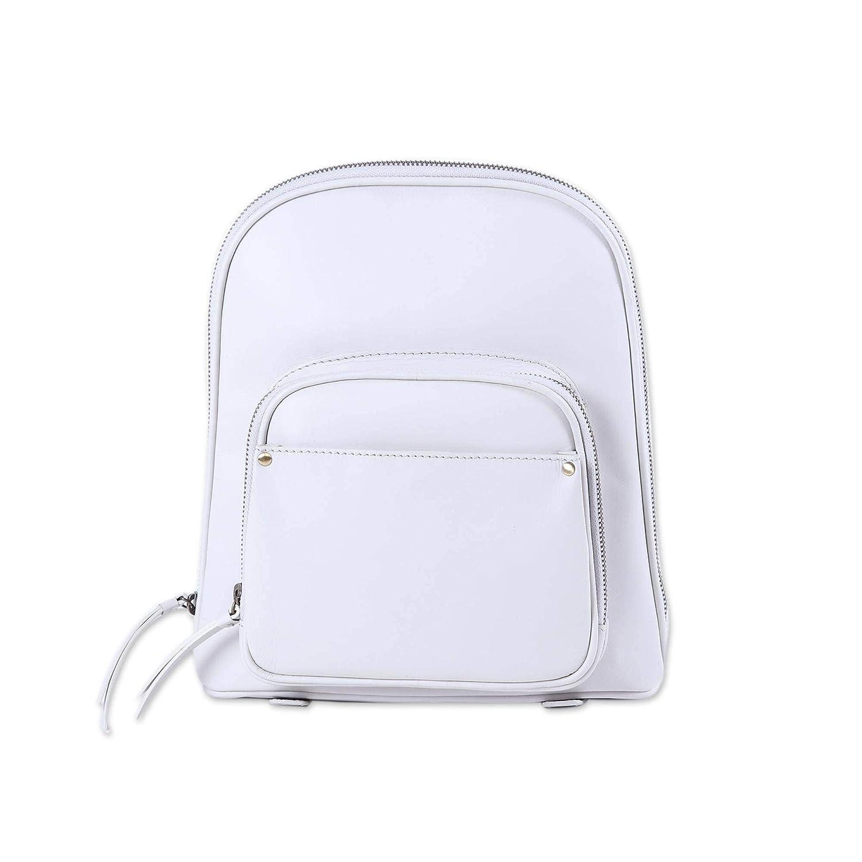 NOVICA レディース バックパック US サイズ: One Size カラー: ホワイト B07J1HBR24
