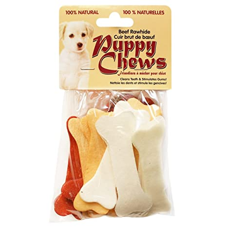 Amazoncom Funchew Pp 010772 1 Assorted Flavors 4 Rawhide Puppy