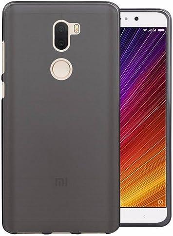 Tumundosmartphone Funda Gel TPU para XIAOMI MI 5s Plus Color Negra: Amazon.es: Electrónica