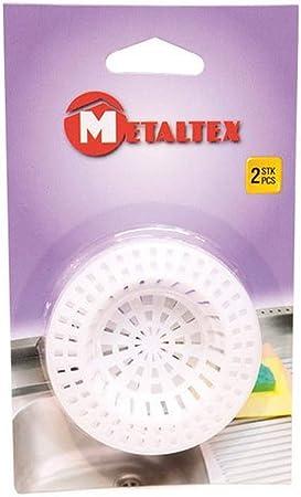 Lot 4 Filtres à évier plastique 7 cm