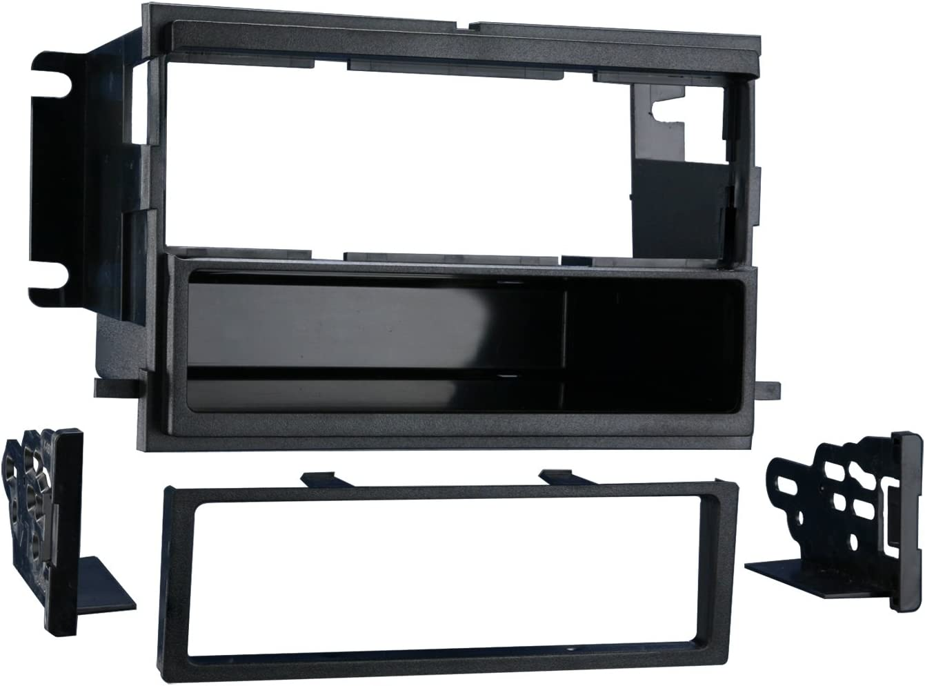 Metra 99-5808 Single DIN Installation Multi-Kit for Select 2004-up Ford//Mercury Vehicles Black