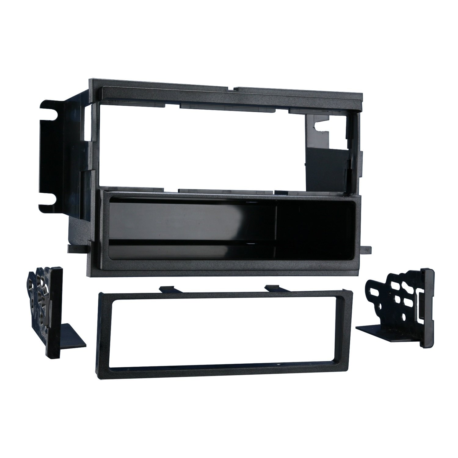 Metra 99-5808 Single DIN Installation Multi-Kit for Select 2004-up Ford/Mercury Vehicles (Black)