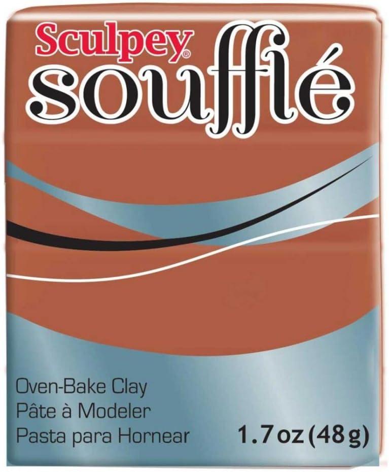 Sculpey Modelliermasse Souffl/é 48gr Cinnamon n/°6665