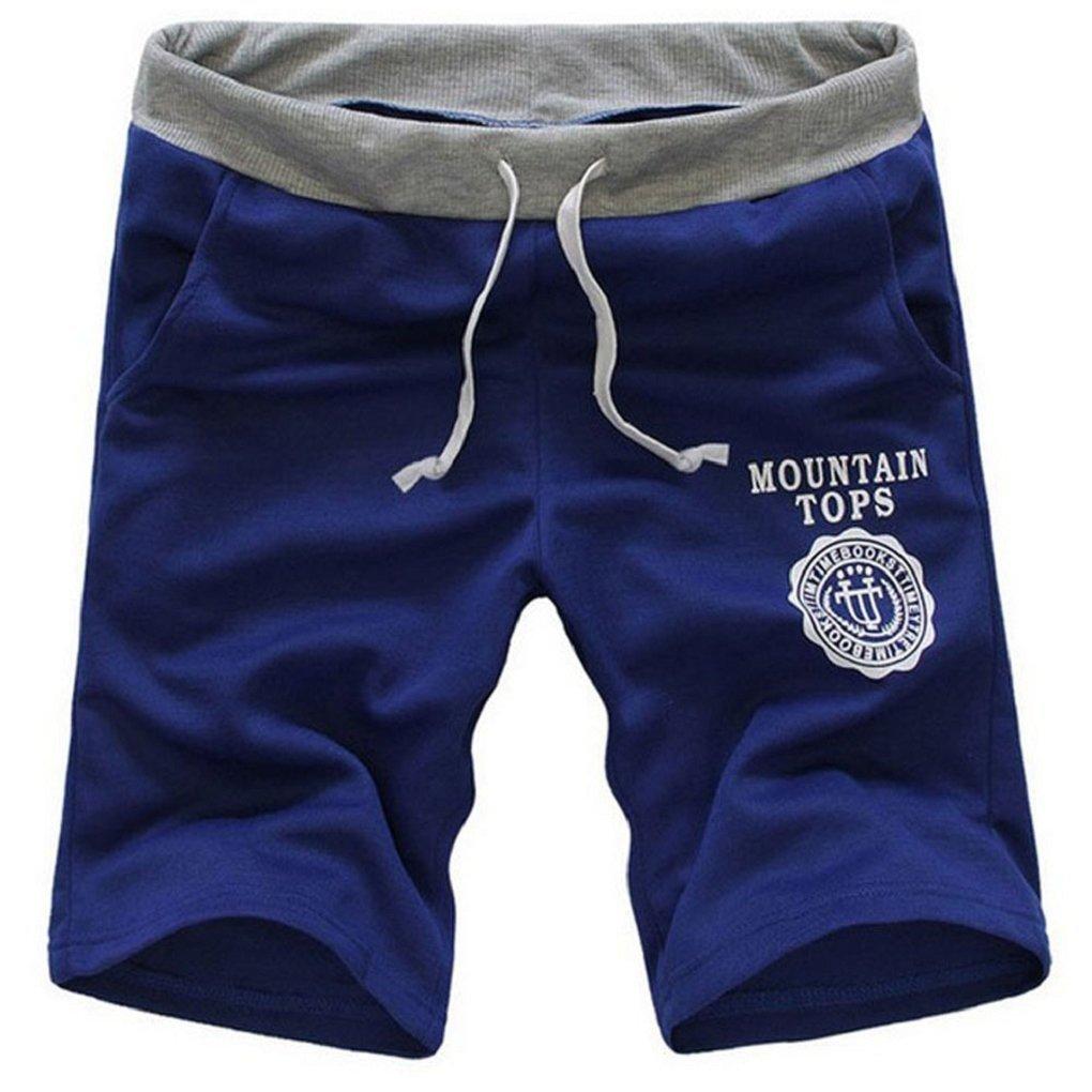 Minetom Hombres Pantalones Cortos De Deportes Casual Gimnasio Formación Pantalones  Moda Suelto Pantalones Azul EU XL  Amazon.es  Ropa y accesorios a42551d7cf22