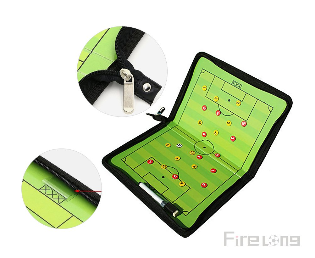 Marker Boards Football / Soccer Coaches' & Referees' Gear Firelong Footbal Soccer Coaches Magnetic Tactic Board with a Write Wipe 2-in-1 Pen