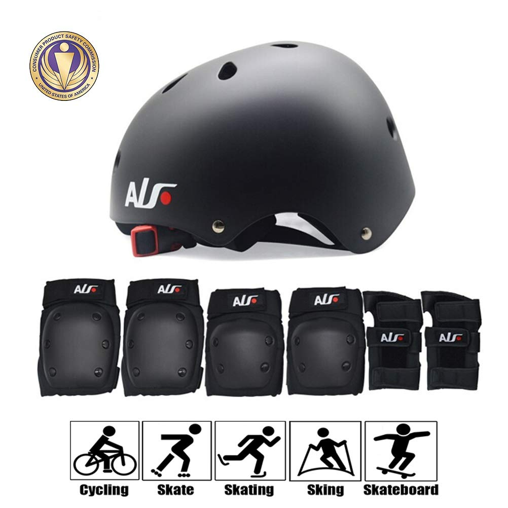 GYL-JL Protective Gear for Teens/Adult Skateboard Cycling (Size : L)