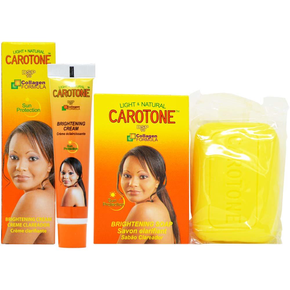 CaroTone Combo 4 (Soap 6.7oz + Cream(Tube) 1oz)
