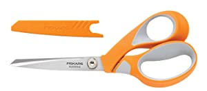 Fiskars Crafts 8185 RazorEdge Softgrip Fabric Shears, 8-Inch