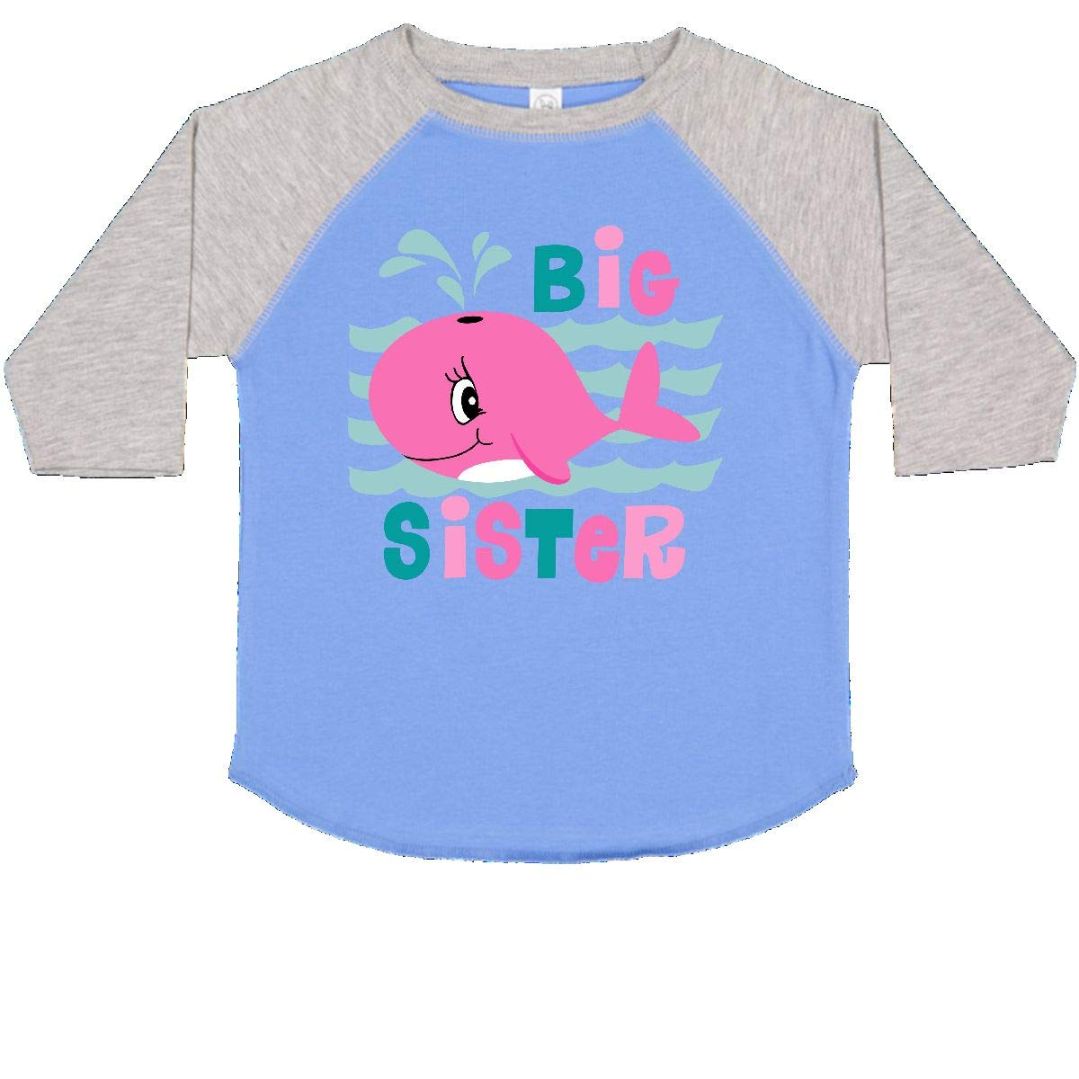 inktastic Whale Big Sister Toddler T-Shirt