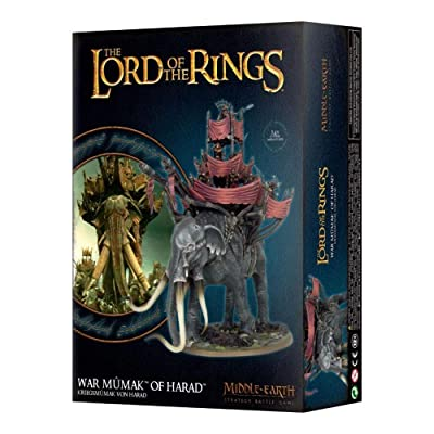 War Mumak of Harad Lord of The Rings: Toys & Games