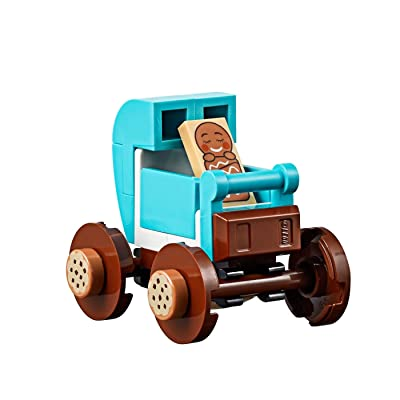 LEGO Gingerbread Baby Tile Minifigure (in Sweet Carriage) All New 10267: Toys & Games [5Bkhe0305857]