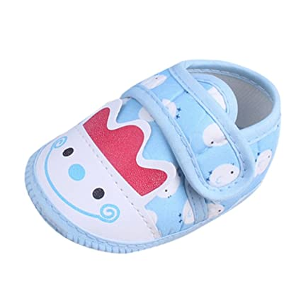 9bdd8822cb332 Amazon.com: Cloudro Soft Sole Baby Shoes Infant Boys Girls Cotton Prewalker  Shoes for 0-9 Months: Sports & Outdoors