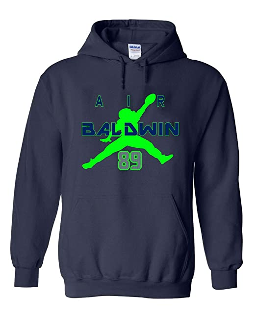 promo code 31229 07100 Navy Seattle Baldwin Air Hooded Sweatshirt at Amazon Men's ...