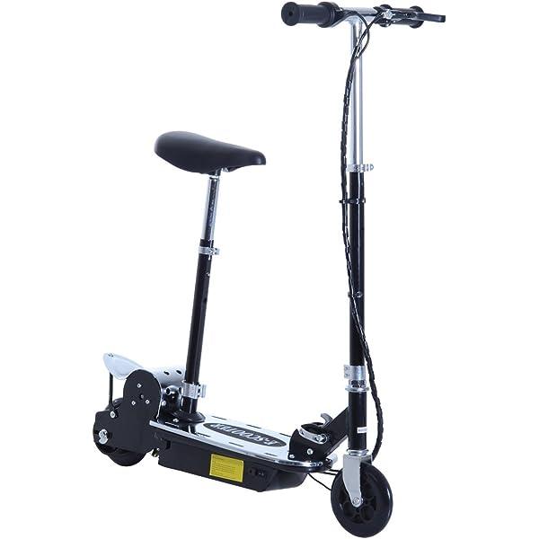 HOMCOM Patinete Eléctrico Scooter Plegable con Manillar y ...