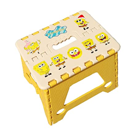 Enjoyable Amazon Com Minmin Zdy One Step Folding Plastic Stool Creativecarmelina Interior Chair Design Creativecarmelinacom