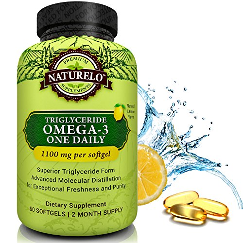 NATURELO Premium Omega 3 Fish Oil product image