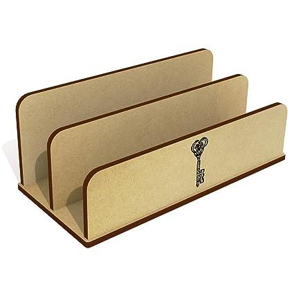 Llave De Madera Carta Poseedor / Organizador (LH00012808): Amazon.es: Juguetes y juegos