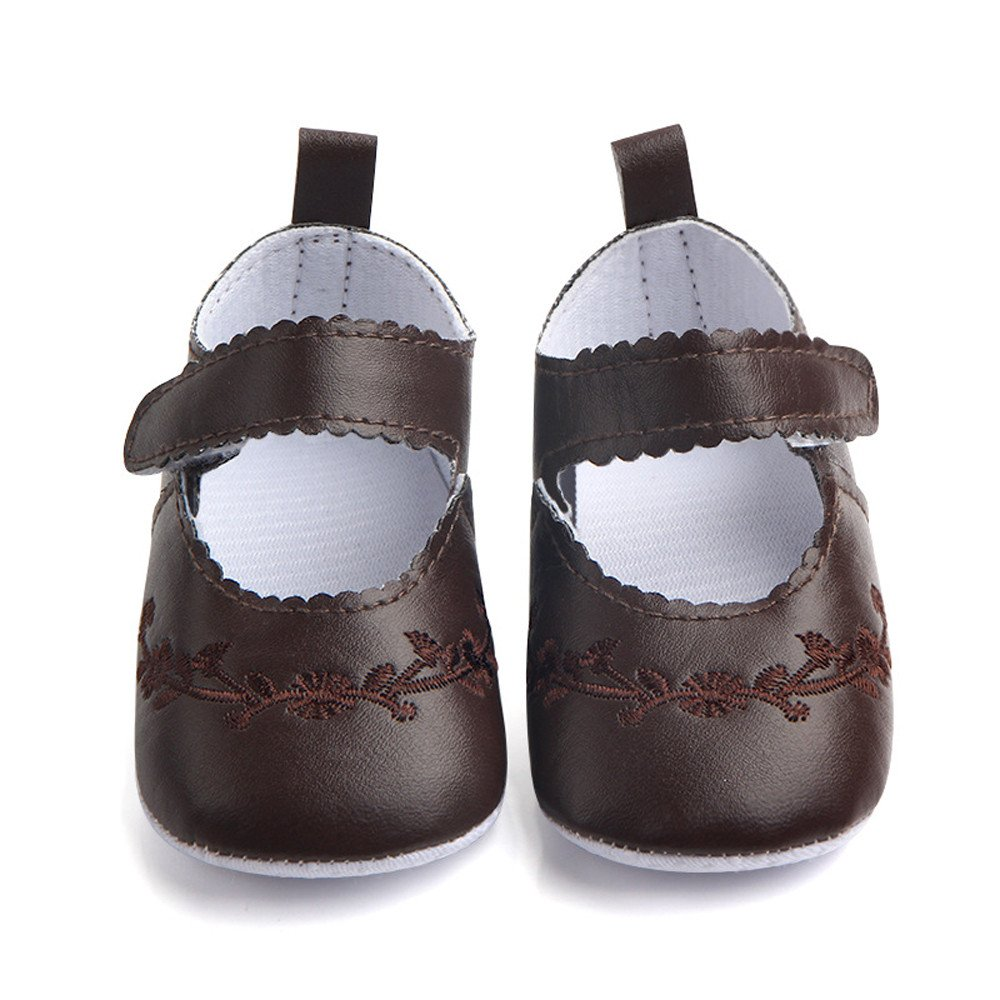 DZT1968  Newborn Baby Fashion Stitchwork Soft Anti-Slip First Walkers Single Shoes