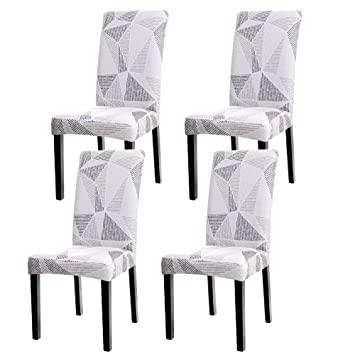 Remarkable Wuruibo Super Fit Spandex Fabric Stretch Elastic Dining Chair Cover Washable Chair Protective Slipcovers For Dining Room Hotel Machost Co Dining Chair Design Ideas Machostcouk